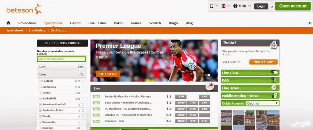 betsson-home-page
