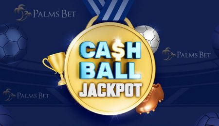 Palms Bet CashBall джакпот